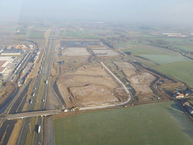 6 X bedrijfsgrond te koop in Kortrijk