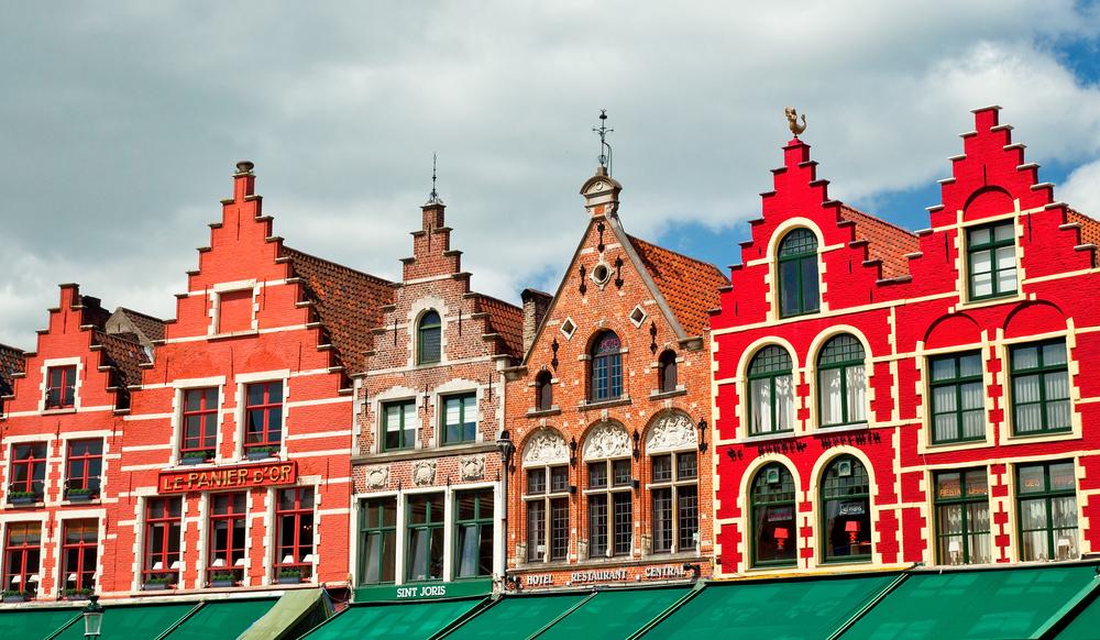5 x winkelpand te huur in Brugge centrum